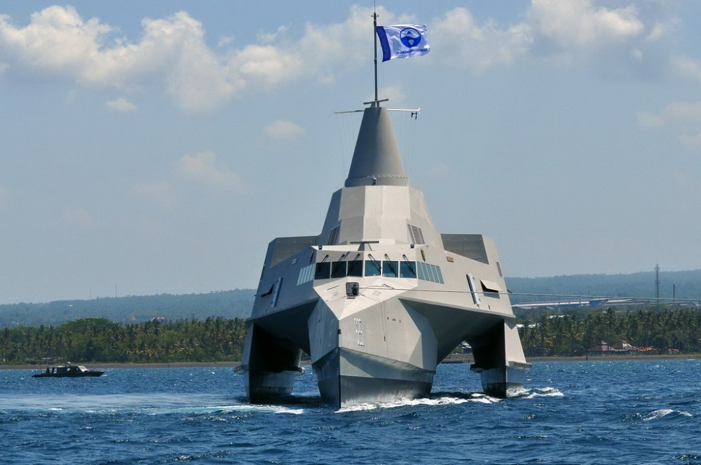 KRI Klewang – First Stealthy Trimaran Patrol Vessel for the Indonesian Navy...err Used to be ! (1/2)