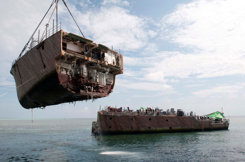 USS Guardian ; Removal Update (1/2)