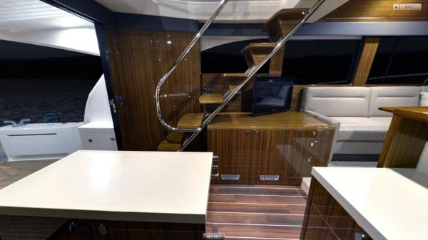 M50 Galley Saloon Cockpit