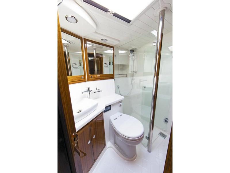 Shower Recess In Room Dividing Wall